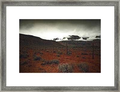Framed Print featuring the photograph Song by Mark Ross