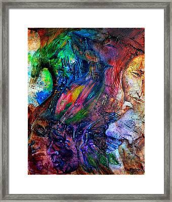 Song Of Dreams Framed Print by Sofanya White
