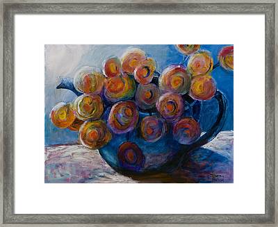 Song Of Flowers Framed Print by Jeremy Holton