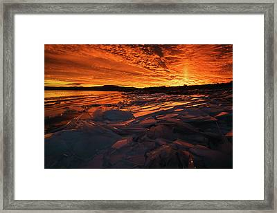 Song Of Ice And Fire Framed Print by Justin Johnson
