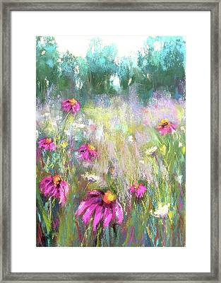 Song Of The Flowers Framed Print by Susan Jenkins