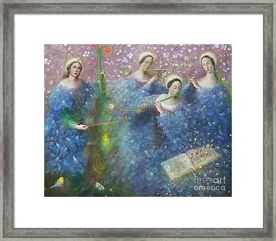 Song Of The Goddess Natura Framed Print