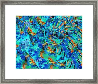 Song Of The Sea - Beach Art - By Sharon Cummings Framed Print