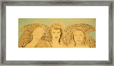 Song Of The Sisters Unfinished Framed Print by J Bauer