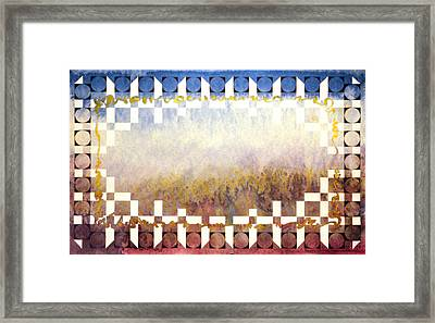 Song Of The Snow Range Framed Print by Tom Hefko