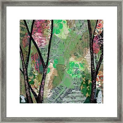 Song Of The Trees I Framed Print