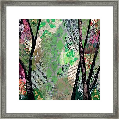 Song Of The Trees II Framed Print