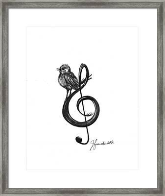 Songbird  Framed Print by J Ferwerda