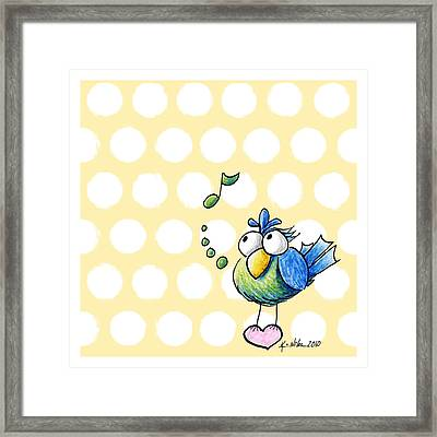 Songbird Framed Print