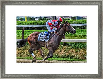 Songbird W Mike Smith Framed Print