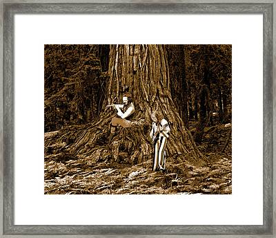 Framed Print featuring the photograph Songs In The Woods 2 by Ben Upham