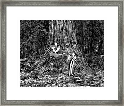 Framed Print featuring the photograph Songs In The Woods by Ben Upham