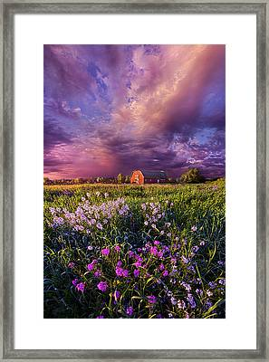 Songs Of Days Gone By Framed Print by Phil Koch
