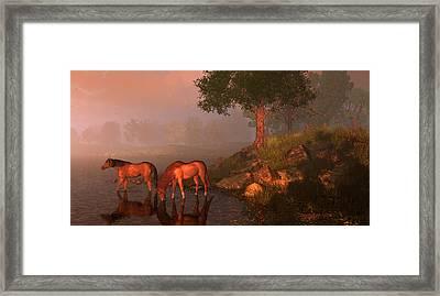 Songs Of Kentucky Framed Print by Dieter Carlton