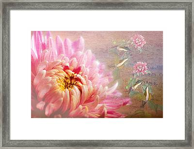 Songs Of Spring Framed Print by Georgiana Romanovna