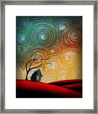Songs Of The Night Framed Print by Cindy Thornton