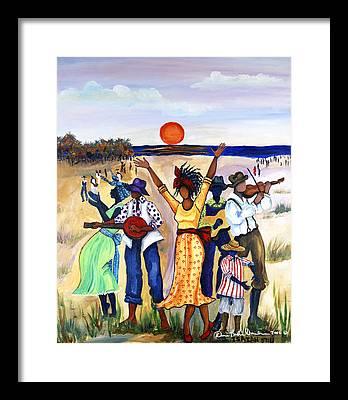 Oil Pastels Framed Prints