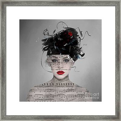 Songwriter Framed Print