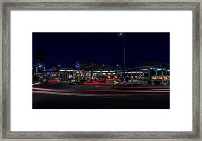 Sonic Boom Framed Print by Michele James