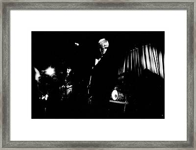 Sonic Youth At Showbox Seattle  Framed Print