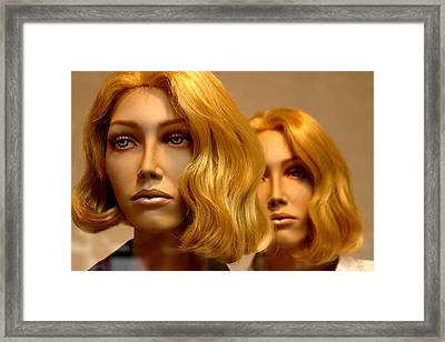 Sonja And Twin Framed Print by Jez C Self