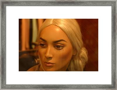 Sonja Grown Up Framed Print by Jez C Self