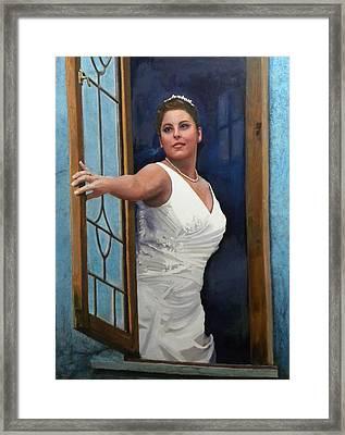 Sonja Framed Print by Richard Barone