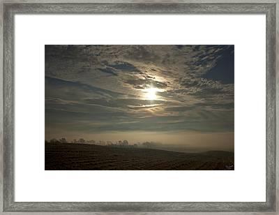 Sonnenaufgang  Bei Rudno Framed Print by Renata Vogl