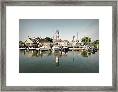 Sono Seaport Framed Print