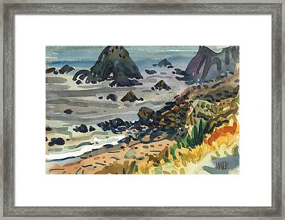Sonoma Coast Framed Print by Donald Maier