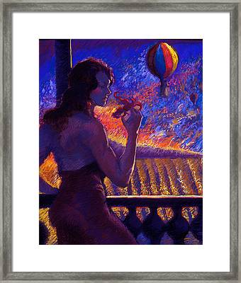 Sonoma Sunrise Framed Print by Ellen Dreibelbis