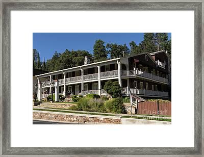 Sonora California Gunn House Motor Hotel Dsc4581 Framed Print