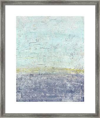 Sonoran Desert #3 Southwest Vertical Landscape Original Fine Art Acrylic On Canvas Framed Print