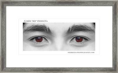 Son's Eyes Framed Print by James BO  Insogna