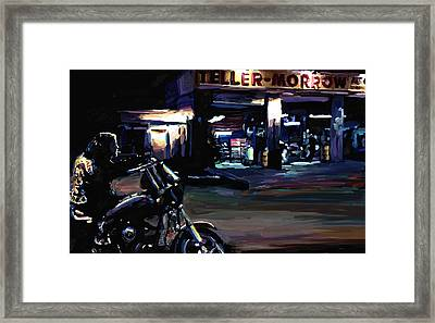 Sons Of Anarchy Jax Teller Signed Prints Available At Laartwork.com Coupon Code Kodak Framed Print by Leon Jimenez