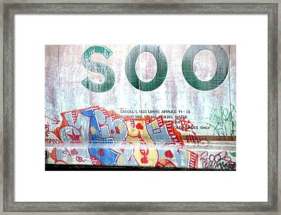 SOO Framed Print by Jame Hayes
