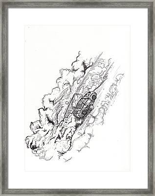 Soob Framed Print by Hugo Diaz