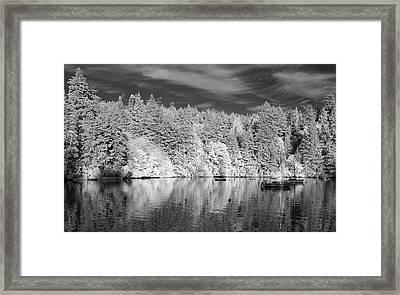Sooke Evening Framed Print by Bill Kellett