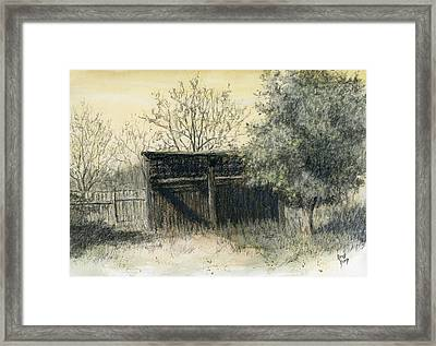 Soon Forgotten Framed Print