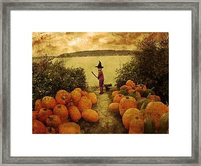 Soon Halloween Framed Print by Anastasia Michaels