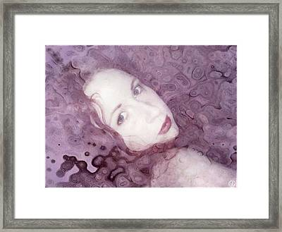Soon In Dreamland Framed Print by Gun Legler
