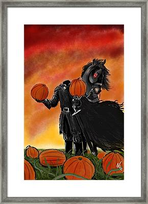 Soon It Will Be All Hallows' Eve Framed Print