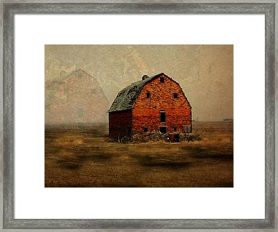 Soon To Be Forgotten Framed Print by Julie Hamilton
