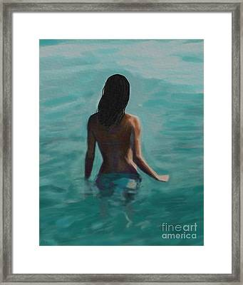 Soothing Evening Framed Print
