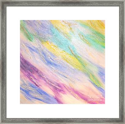 Soothing Framed Print by Lori Jacobus-Crawford
