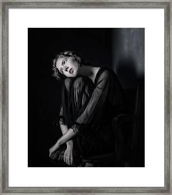 Sophia Framed Print by Derek Galon