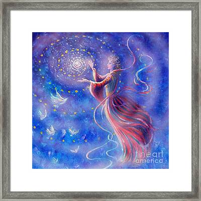 Sophia Finds Wisdom Framed Print