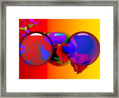 Framed Print featuring the digital art Sophistacated Lady by Robert Orinski
