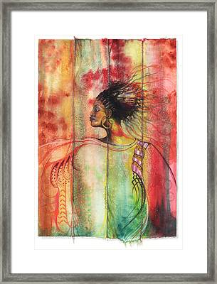 Sophisticated Lady Framed Print