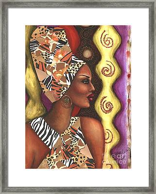 Sophisticated Safari Framed Print by Alga Washington